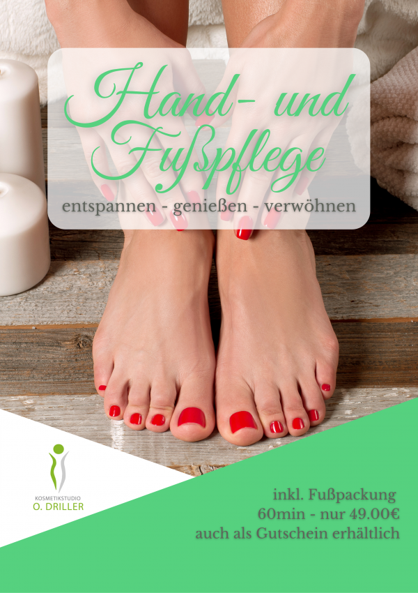 Hand u. Fußpflege